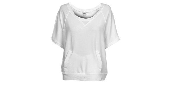 Dámské bílé tričko DKNY