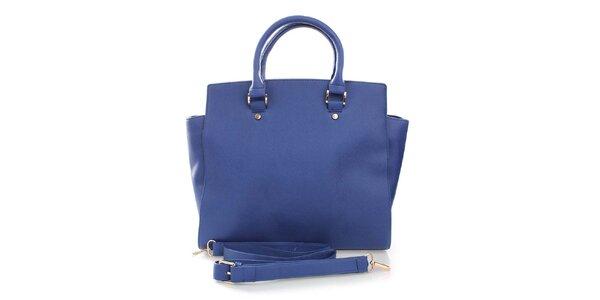 Dámská modrá kabelka London Fashion