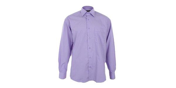 Pánská fialová košile Dicotto