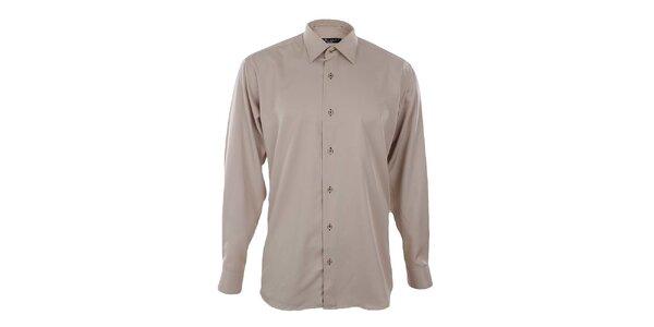 Pánská béžová košile Dicotto