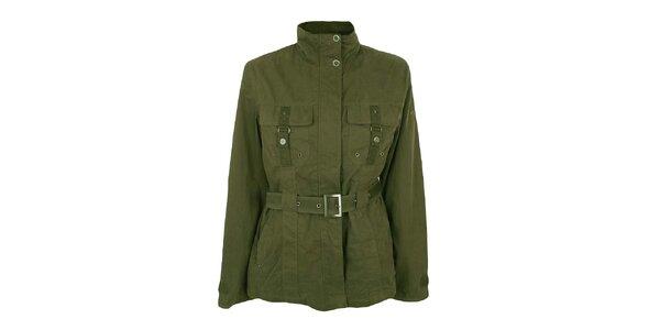Dámský khaki kabátek Northland