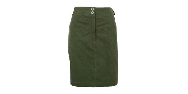 Dámská zelená sukně Northland