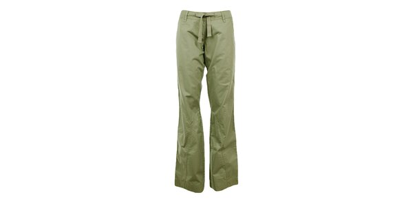 Dámské zelené volnočasové kalhoty Northland