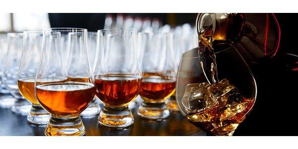 Poznejte skotské whisky během degustace v Bar and Books