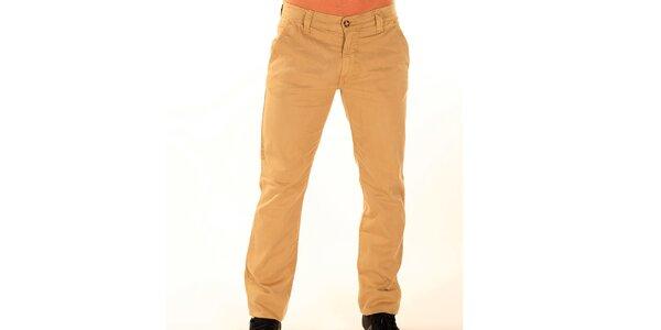 Pánské béžové chino kalhoty New Caro