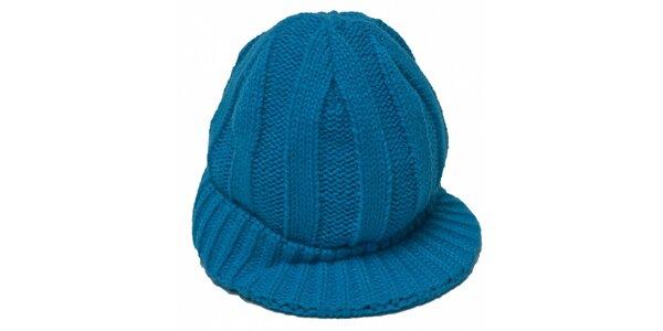 Dámská modrá čepice Fudango s kšiletm