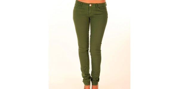 Dámské trávově zelené džíny New Caro