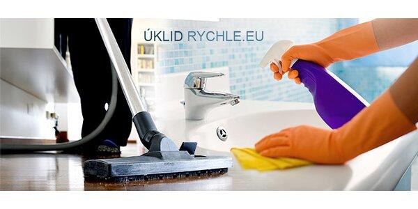 Zářivě čistý domov s profesionály z Úklidrychle.eu