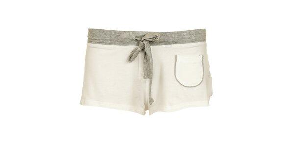 Dámské bílé šortky Tom Tailor
