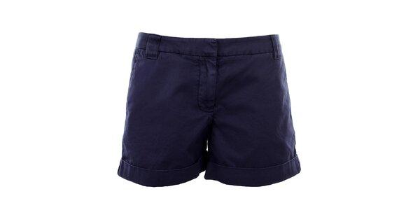 Dámské modrofialové šortky Tommy Hilfiger
