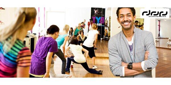 Měsíční permanentka na všechny lekce Dance Academy