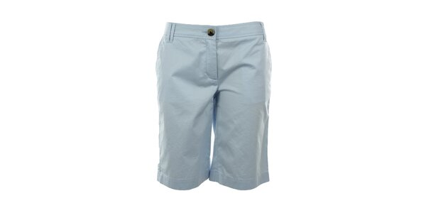 Dámské světle modré krátké kalhoty Tommy Hilfiger