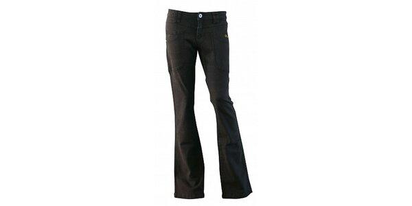 Dámské černé džíny Fundango se zvony