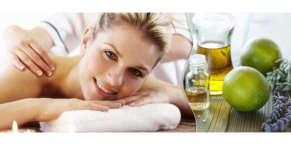 Aroma masáž a dokonalé uvolnění svalů