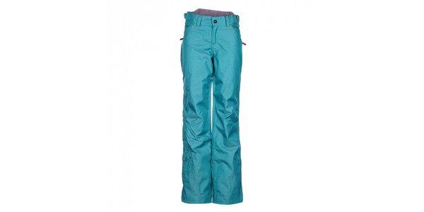 Dámské mintové sportovní kalhoty Fundango s membránou