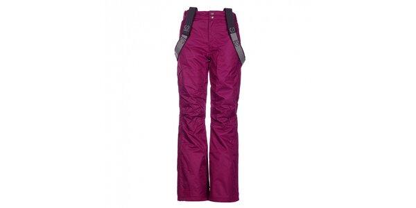 Dámské fuchsiové lyžařské kalhoty Fundango s membránou