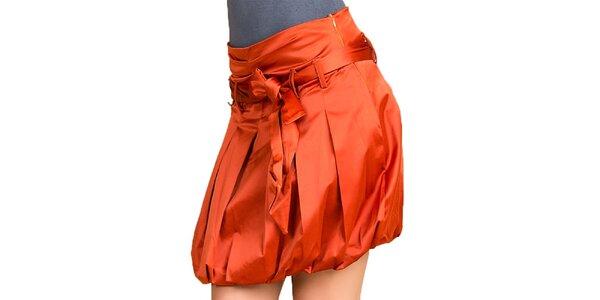 Dámská oranžová balonová sukně Keysha