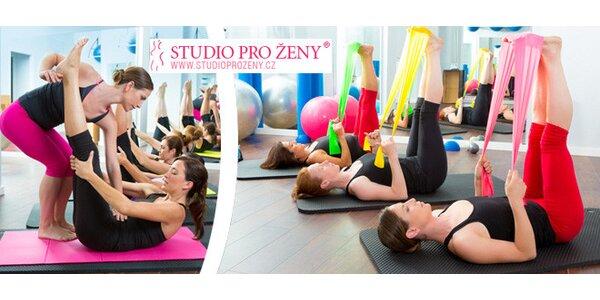 3× Pilates ve Studiu pro ženy