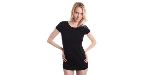 Dámské černé tričko DKNY
