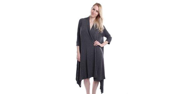 Dámský otevřený kardigan v šedé barvě DKNY