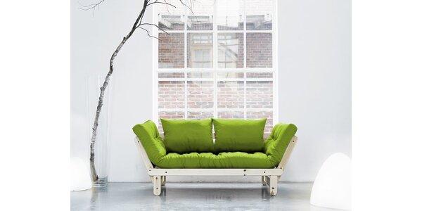 Rozkládací sofa KARUP BEAT PINE/LIME
