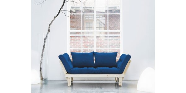 Rozkládací sofa KARUP BEAT PINE/ROYAL