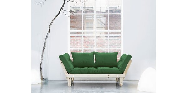 Rozkládací sofa KARUP BEAT PINE/BOTELLA