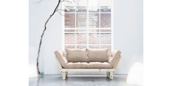 Rozkládací sofa KARUP BEAT PINE/VISION