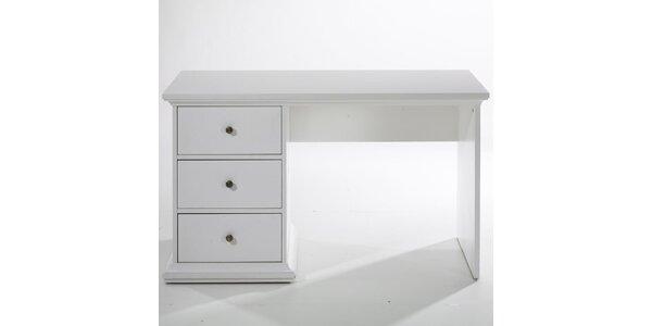 Stůl Paris se 3 zásuvkami