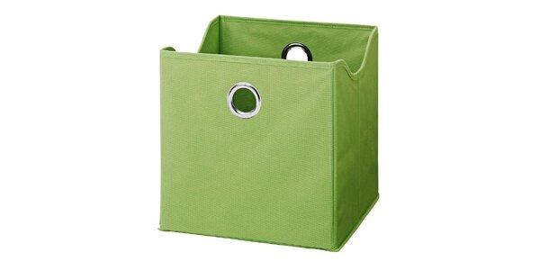Boxy v barvě zelené jablko (9 kusů)