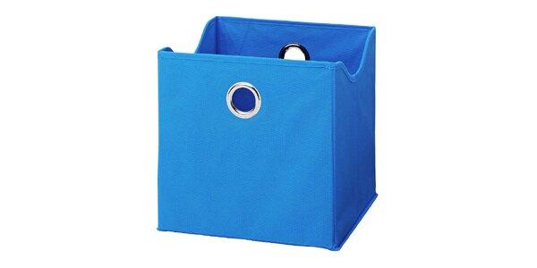 Boxy v modré barvě (9 kusů)