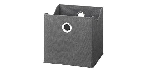 Boxy v šedé barvě (9 kusů)