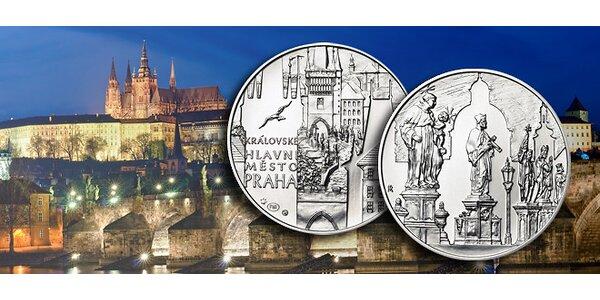 Praha v ryzím stříbře – vhodný dárek i investice