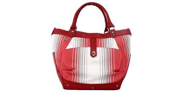 Dámská kabelka s růžovými detaily Jahn for Jahn