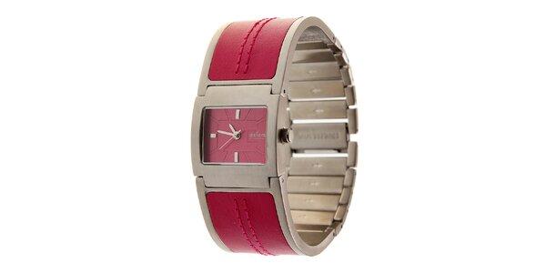 Dámské sytě růžové hodinky Axcent