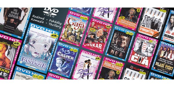 10 filmových DVD