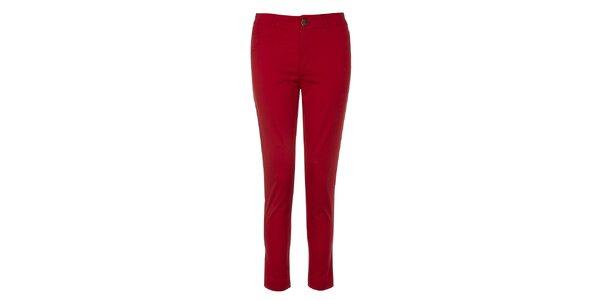 Dámské rudé kalhoty Yumi