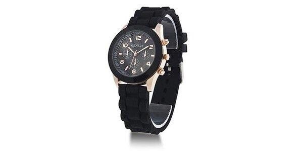 Geneva Color/Black unisex hodinky