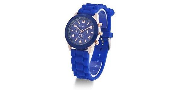 Geneva Color/Blue unisex hodinky