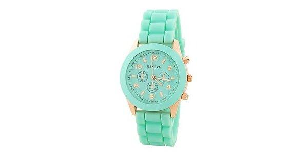 Geneva Color/Mint unisex hodinky