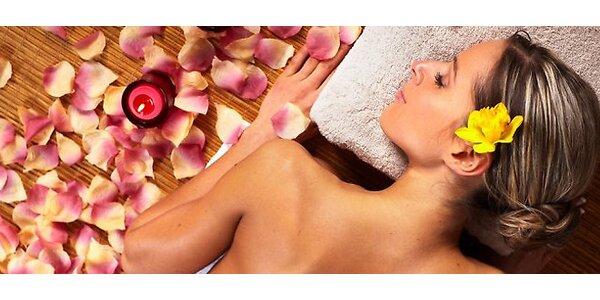 SPA masáž pro osvěžení a oživení organismu