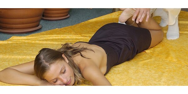 SHIATSU - japonská chrámová masáž v kombinaci s očistnou lymfomasáží