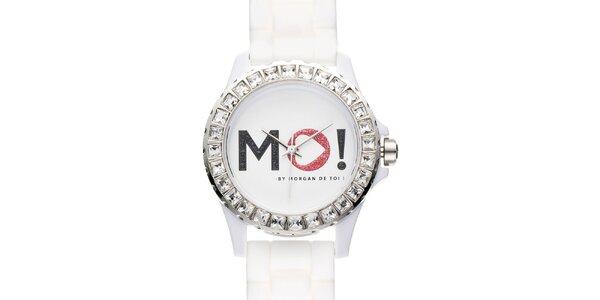Dámské bílé hodinky Morgan de Toi
