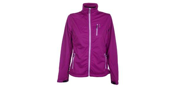 Dámská purpurová softshellová bunda Loap