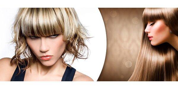 Kompletní sestřih nebo ošetření vlasů keratinem