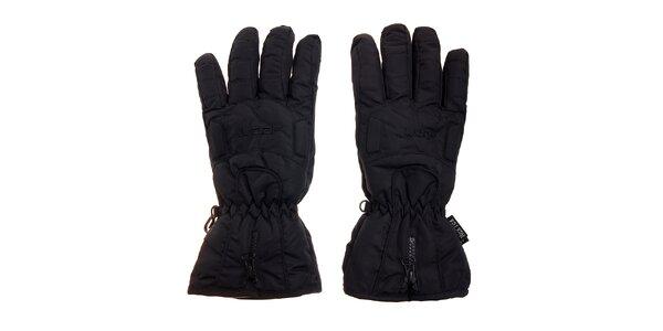Černé lyžařské rukavice Loap