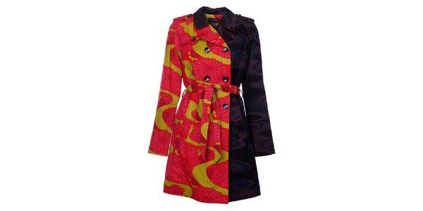 Dámský kabát Custo Barcelona s potiskem