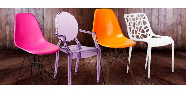Kvalitní designové židle do bytu i kanceláře