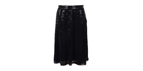 Dámská černá sukně s flitry Mexx