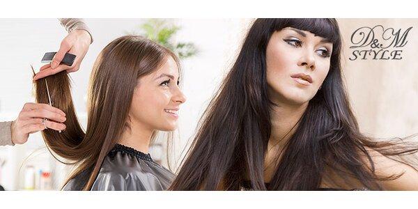 Dámský střih a péče kosmetikou Framesi